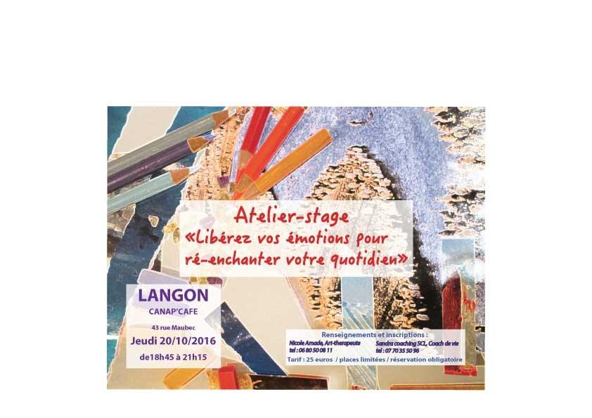 Atelier stage liberez vos emotions canap cafe langon 20102016